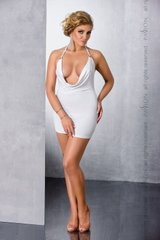 Пеньюар - MIRACLE CHEMISE white 6XL/7XL - Passion