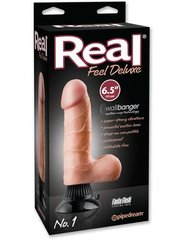 "Реалистичный вибратор - Real Feel Deluxe No.1 - 6.5"" Flesh"