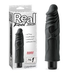 Реалистичный вибратор - Real Feel Lifelike Toyz No. 1 - Black